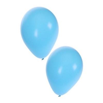 Ballonnen licht blauw 50 stuks 10inch