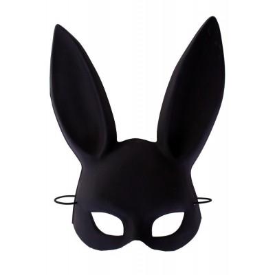 Foto van Half masker bunny zwart