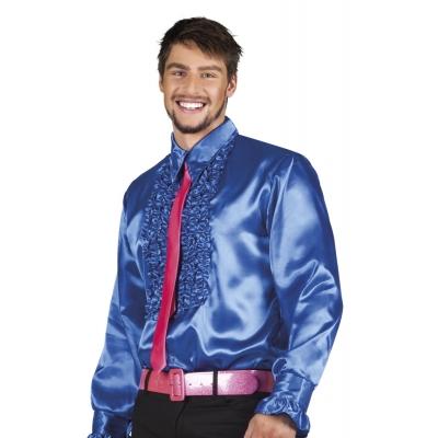 Foto van Disco overhemd blauw