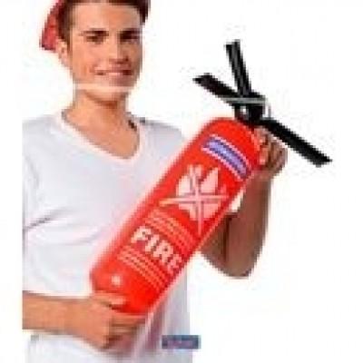 Opblaas brandblusser