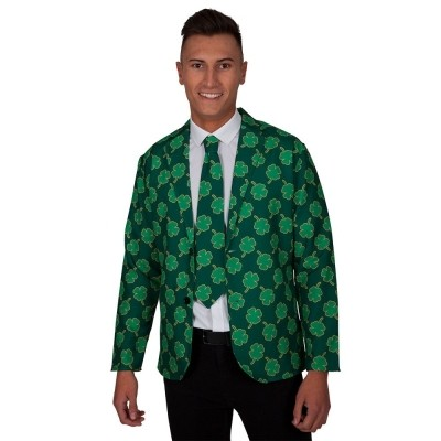 Colbert met stropdas St. Patrick's day