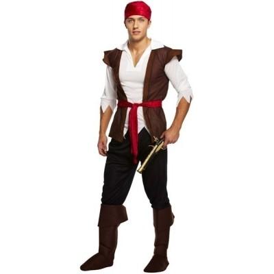 Piraten pak volwassen kostuum