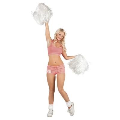 Foto van Cheerleader pompon wit