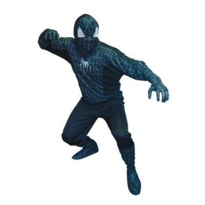 Foto van Spiderman zwart volwassen