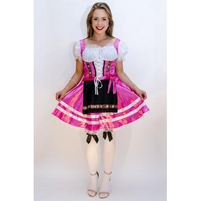 Foto van Tiroler jurk Helena roze