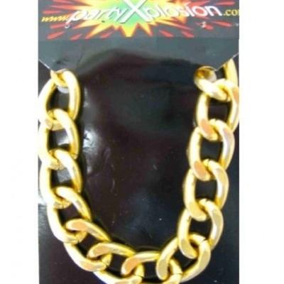 Foto van Pooier armband goud grof model in pbh