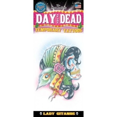 Foto van Day of The Dead Lady Gitanos
