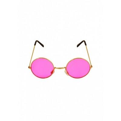 Foto van Hippie bril roze