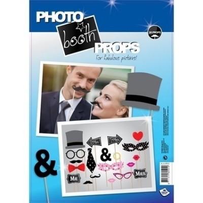 Foto van Photo booth props wedding (20 stuks)