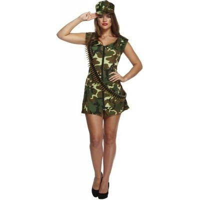 Foto van Sexy legerjurkje