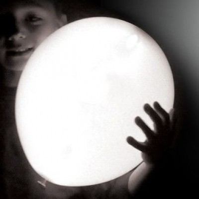 Foto van Illooms Ballonnen Wit 5 st.