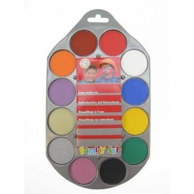 Foto van Family set palet 12 kleuren