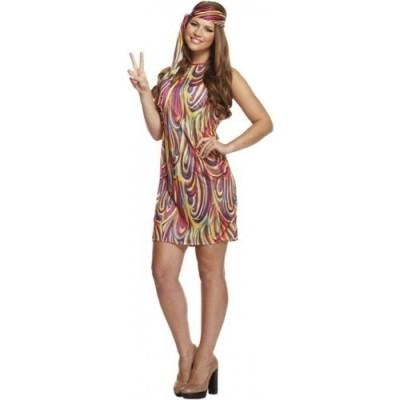 Hippie/disco jurk