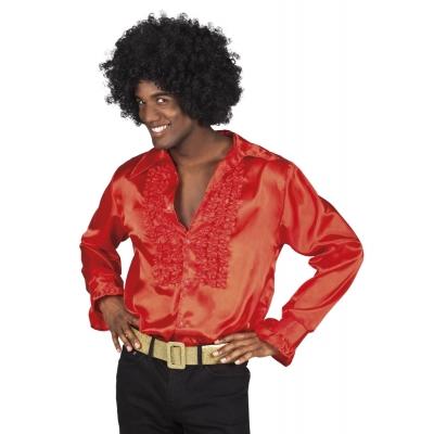Foto van Disco overhemd rood