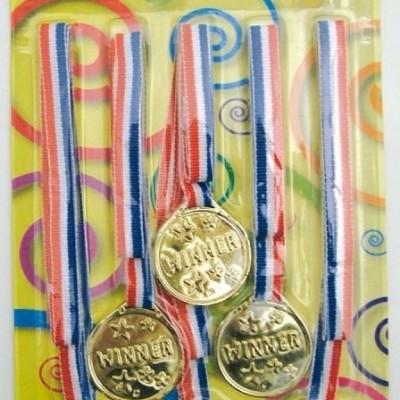 Foto van Medailles 6st op blister