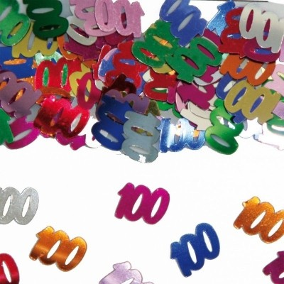 Foto van Tafeldecoratie/sier-confetti 100