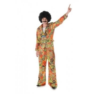 Foto van Hippie kostuum peace