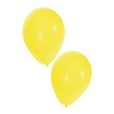 Foto van Ballonnen geel 50 stuks 10 inch