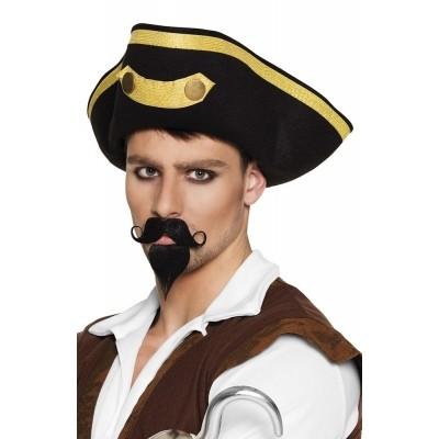 Snor en sik kapitein