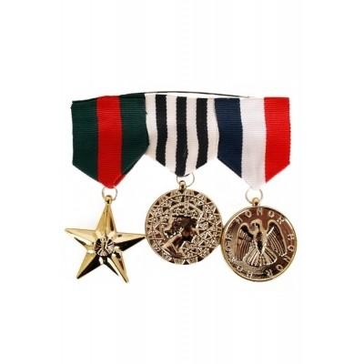 Medaille leger 3 stuks