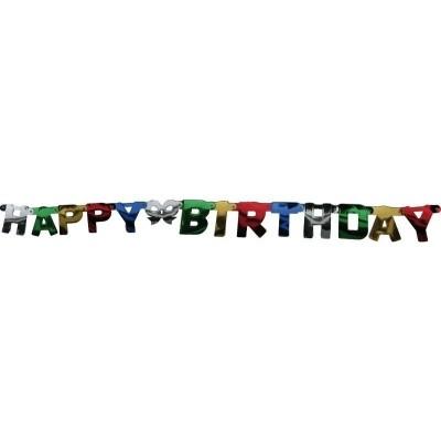 Foto van Letterslinger Staniol Happy Birthday