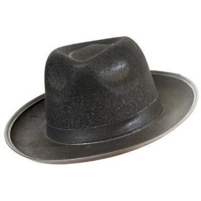 Foto van Maffia hoed vilt zwart