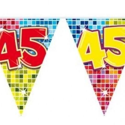 Mini Vlaggenlijn Bday Blocks 45