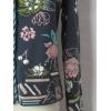Afbeelding van IVKO vestje katoen navy bloem 61515