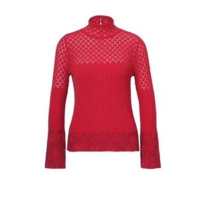 IVKO trui wol rood 72547