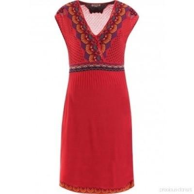 Foto van IVKO jurk katoen rood 71623