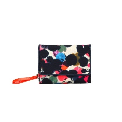 Oilily wallet blauw dots oes6513