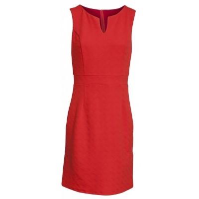 Foto van Smashed jurk oranje rood 17544