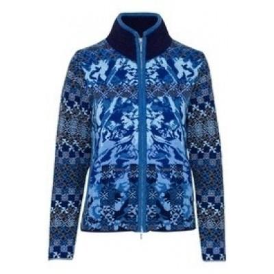 Foto van Kooi vest wol blauw 17150