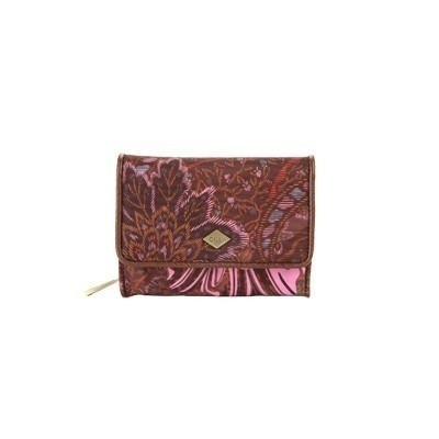 Oilily portemonnee small wallet coffee 0es6540
