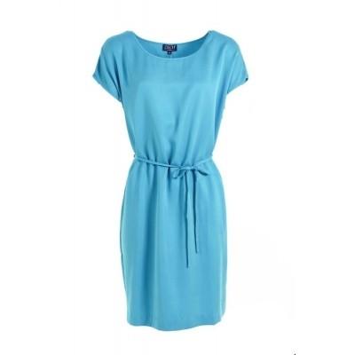 Zilch jurk tencel turquoise