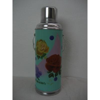 Foto van Thermosfles chinees blauw roos