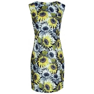 Foto van Smashed jurk katoen blend sunflower 17407