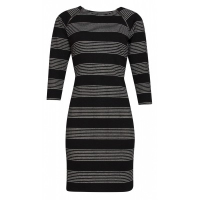 Foto van Smashed L jurk zwart 17628