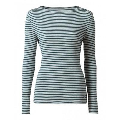 Foto van Oilily t-shirt katoen grijs streep stripe Themba.