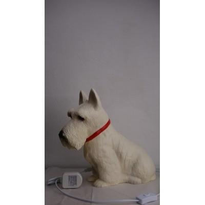 Foto van Terrier lamp heico off-white.