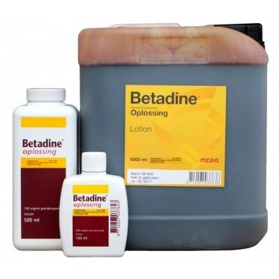Betadine oplossing REG NL VRIJ 5 ltr