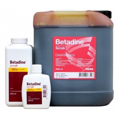 Betadine scrub REG NL VRIJ 500 ml