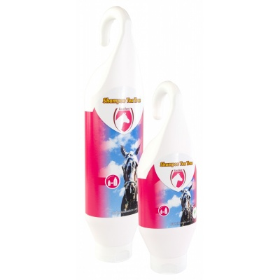 Foto van Shampoo Tea Tree Horse (Sta-/Hangflacon) 500 ml