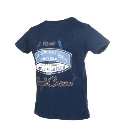 Foto van HKM kinder shirt king royaal