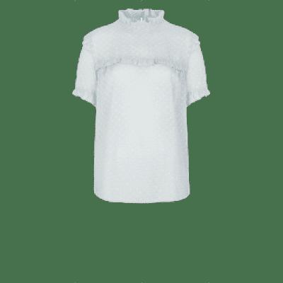 Dante6 Endless dot jacquard top Mint green