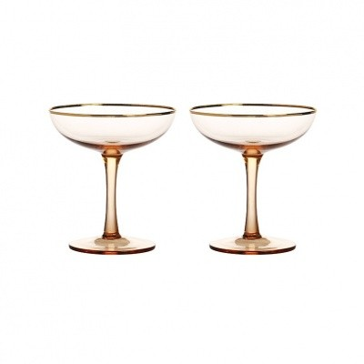 Foto van Champagne Coupe set of 2