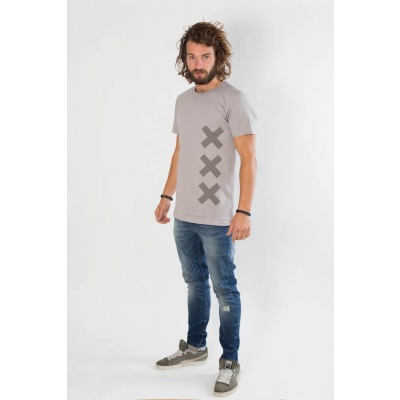Amsterdenim T-Shirt KOOS Grey