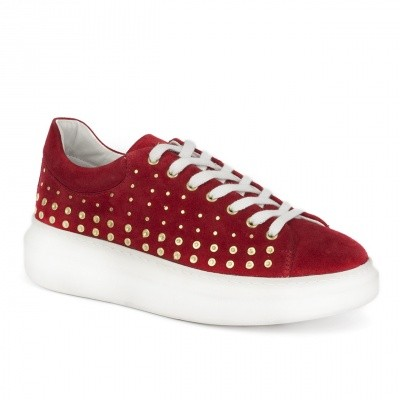 Deabused Shoe Studs Red
