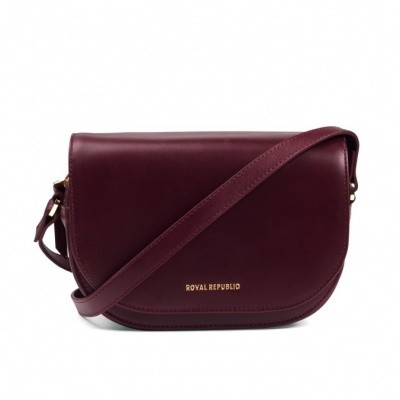 Foto van Royal Republic Raf curve evening bag Bordeaux