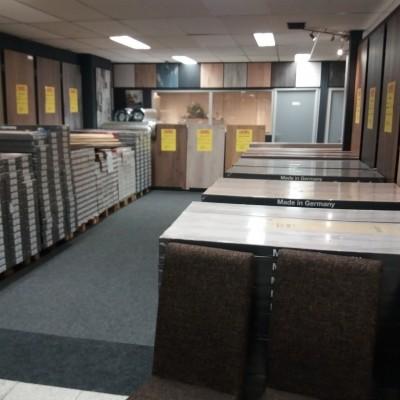 Nieuwe laminaatafdeling!